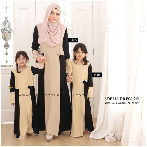 Dress Ibu Dan Anak dress adelia sedondon ibu dan anak saeeda collections