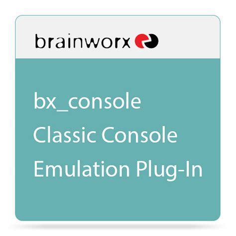 console emulation brainworx bx console classic console emulation pa bwx console