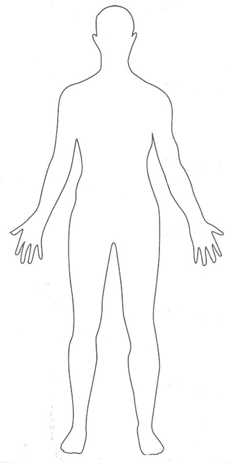 Outline Of A Human by Best 25 Template Ideas On Fashion Illustration Template Fashion Templates And