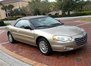 2004 Chrysler Sebring Convertible Top 2004 Chrysler Sebring Overview Cargurus