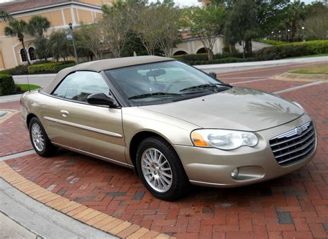 2004 chrysler seabring 2004 chrysler sebring overview cargurus
