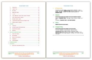 employees handbook template employee handbook