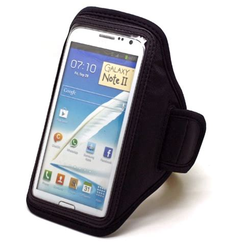 Neoprene Material Sports Armband For Samsung Note 2 3 Gagdet Unik neoprene material sports armband for samsung note 2 3 ze ad007 black jakartanotebook
