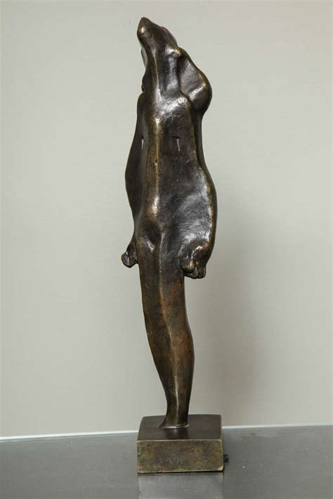 Bronze L by Quot L Esperance Quot Cubist Bronze By Joseph Csaky For Sale At