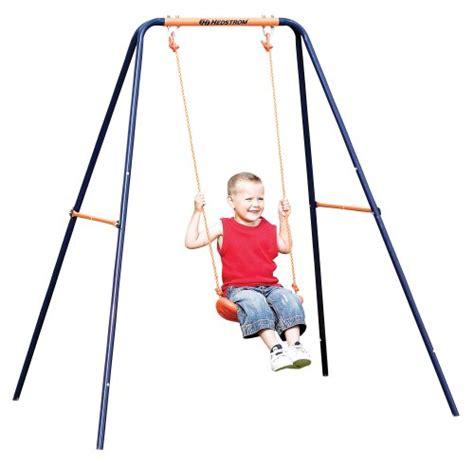 hedstrom swing set hedstrom single swing garden rattan furniture