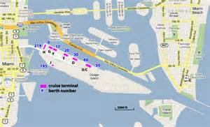 cruise ports in florida map cruises from miami florida miami cruise ship departures