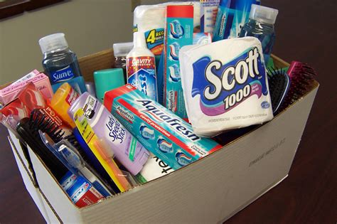 essential home items donate essential toiletries for food bank families grace
