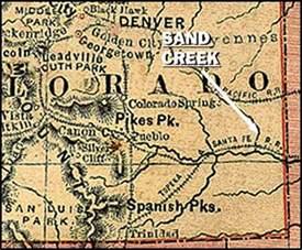 sand creek colorado map pbs the west sand creek