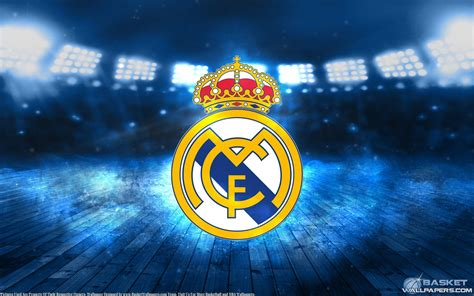 wallpaper pc real madrid real madrid logo wallpapers wallpaper cave