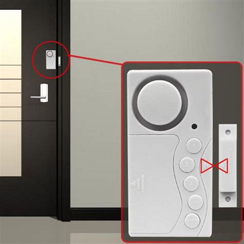 magnetic sensor wireless door window home security entry