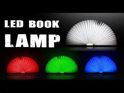 light it up a ash novel books creative folded book style led l color lights version