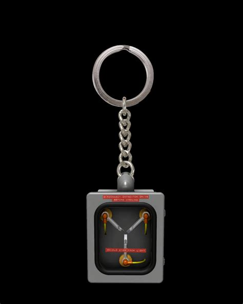 flux capacitor runs on figure insider 187 1 10th scale mini flux capacitor back to the future collectible on