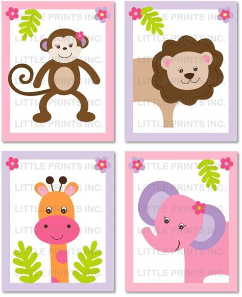 printable jungle animal images pinterest