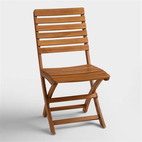 folding chairs wood wood folding chairs set of 2 world market