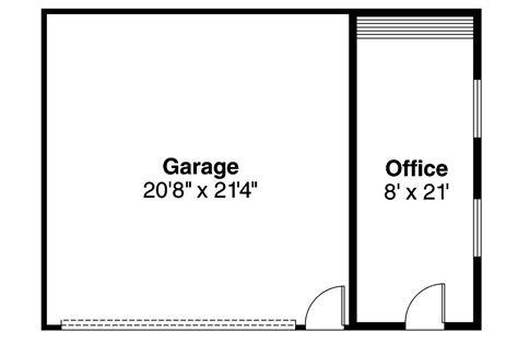 garage office plans traditional house plans garage w office 20 014