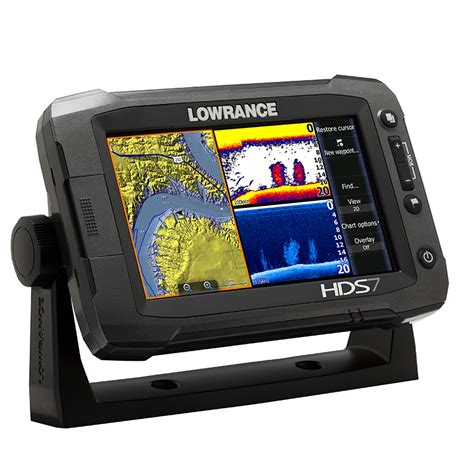 by type lowrance hds 7 gen2 touch touchscreen fishfinder chartplotter