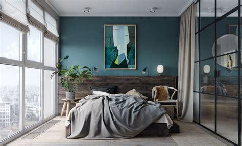 Rideaux Naturel 923 by Mur Bleu Canard Et Style Loft D 233 Co Clem Around