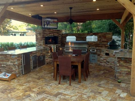 creative outdoor kitchens pergola creative outdoor kitchens