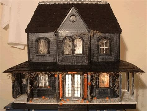 s w crafts dollhouse what s bubbling at cauldron craft miniatures haunted
