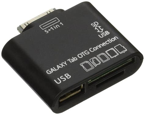 Connection Kit Card Reader For Samsung Galaxy Tab galleon jexon usb otg connection kit and card reader for