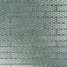 Black Pearl Ellipse Glass Wall Tile   3 x 12   100230374