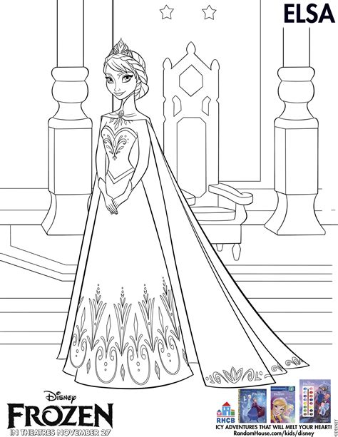coloring pages frozen to print disney s frozen free printables for and the