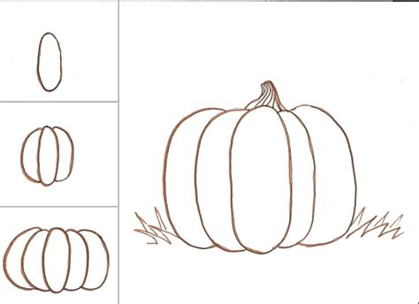 pumpkins to draw draw a pumpkin class ideas