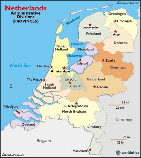 netherlands map map netherlands map provinces gallery