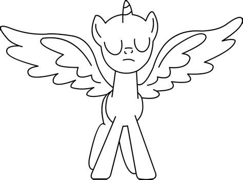 my little pony coloring bases coloring pages