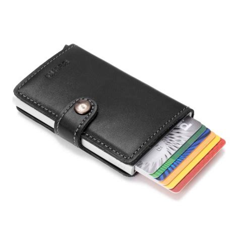 Amazon 1 Click Payment With Gift Card - secrid mini wallet genuine black leather with rfid protection with one click all