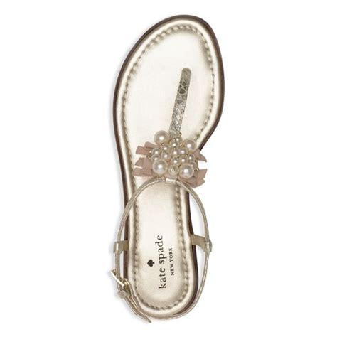 kate spade pearl sandals kate spade pearl wedding sandals 5 weddings