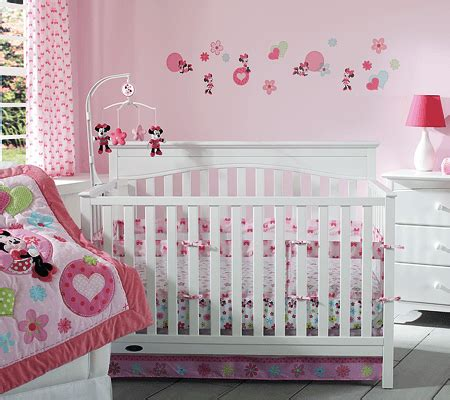 minnie mouse crib bedding set cute disney 3 piece crib bedding sets for every nursery