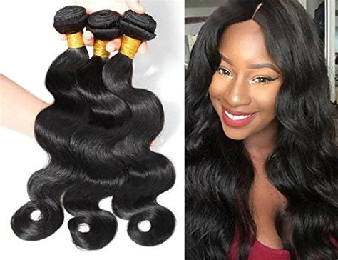 belle 100 tangle free premium human hair 18 color 1 best buy box 174 brazilian hair extensions water body wave