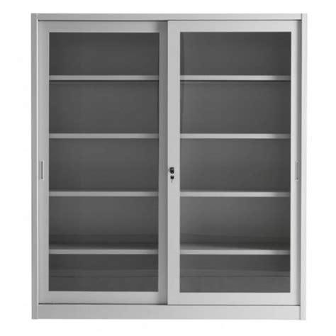 mobili in metallo per ufficio armadio da ufficio con ante a vetri e struttura di metallo