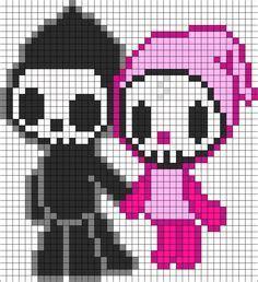 knitting pattern grid tokidoki pixel art grid google search pixel art grid