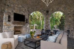 Patio Living Room Rustic Style Hgtv