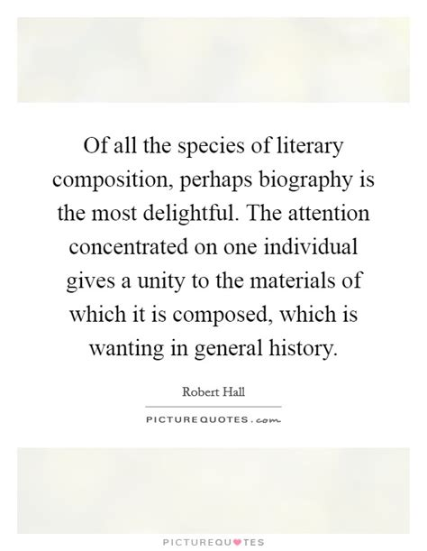 literary definition for biography of all the species of literary composition perhaps
