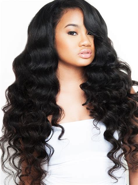 pictures of loose wave hair peruvian 100 virgin hair loose wave bundle