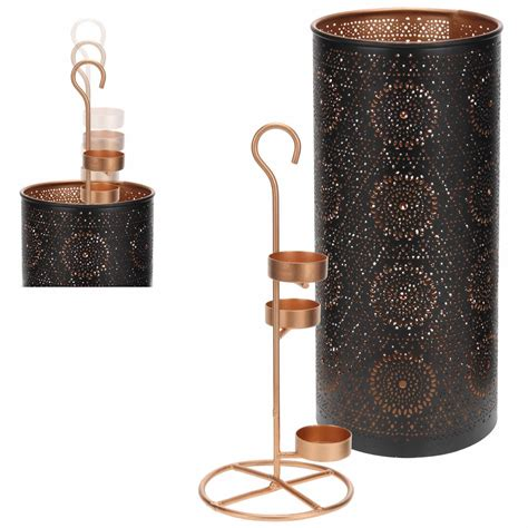 kerzenhalter shabby design windlicht metall teelichthalter kerzenst 228 nder