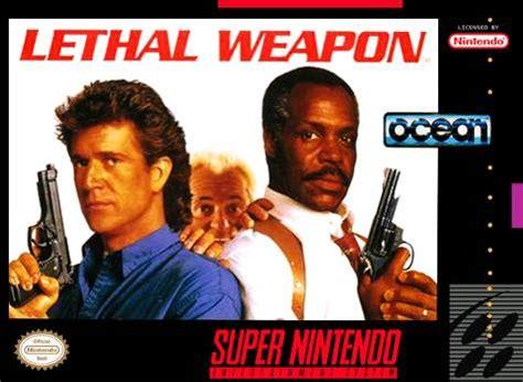 lethal weapon snes super nintendo