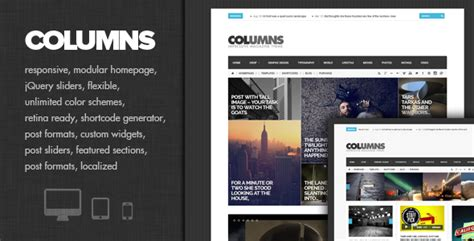 blogger magazine themes 2015 columns impressive magazine and blog theme wpfriendship
