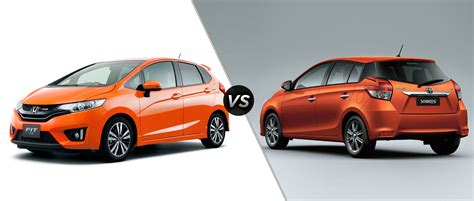Toyota Yaris Vs Honda Fit Honda Fit Vs Toyota Yaris Comparison Review And Specs