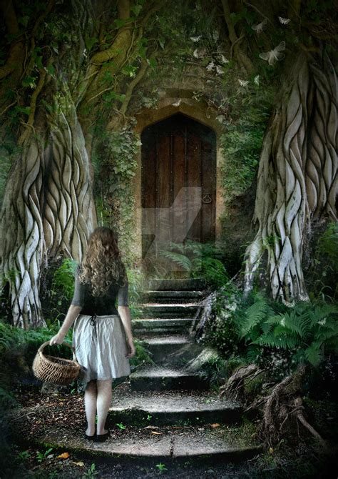 The Secret Door the secret door by arwensgrace on deviantart