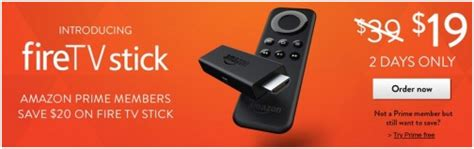 fire tv stick deal  amazon prime members living rich  coupons