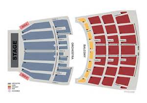 Ticketmaster Floor Plan seating charts shrine auditorium