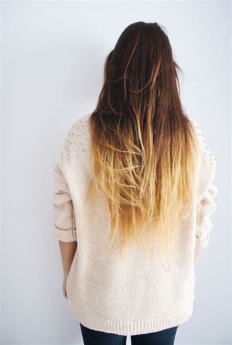 dip dyed hairstyles tumblr indie x vintage x nature blog