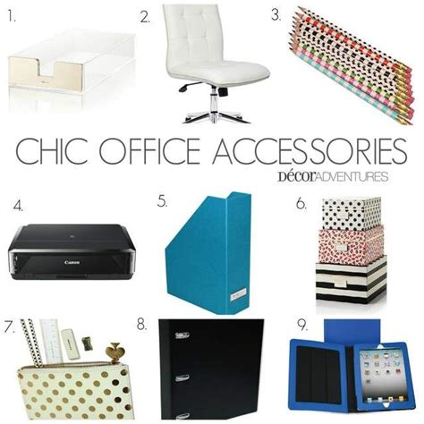 76 Best Urbangirl Office Supply Favorites Images On Trendy Desk Accessories