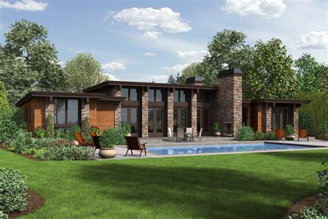 modern prairie style house plans modern style house plan 3 beds 2 5 baths 2557 sq ft plan 48 476