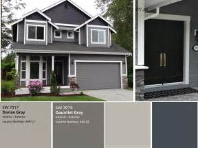 gray exterior paint colors we the exterior painted already with sherwin williams