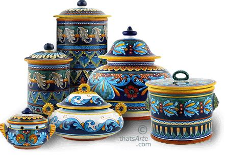 tuscan style canisters handcrafted tuscan canisters personalized canisters from italy